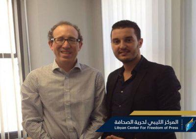 حرية الصحافة يتفق مع اللجنة الدولية لحماية الصحفيين على التنسيق والعمل المشترك