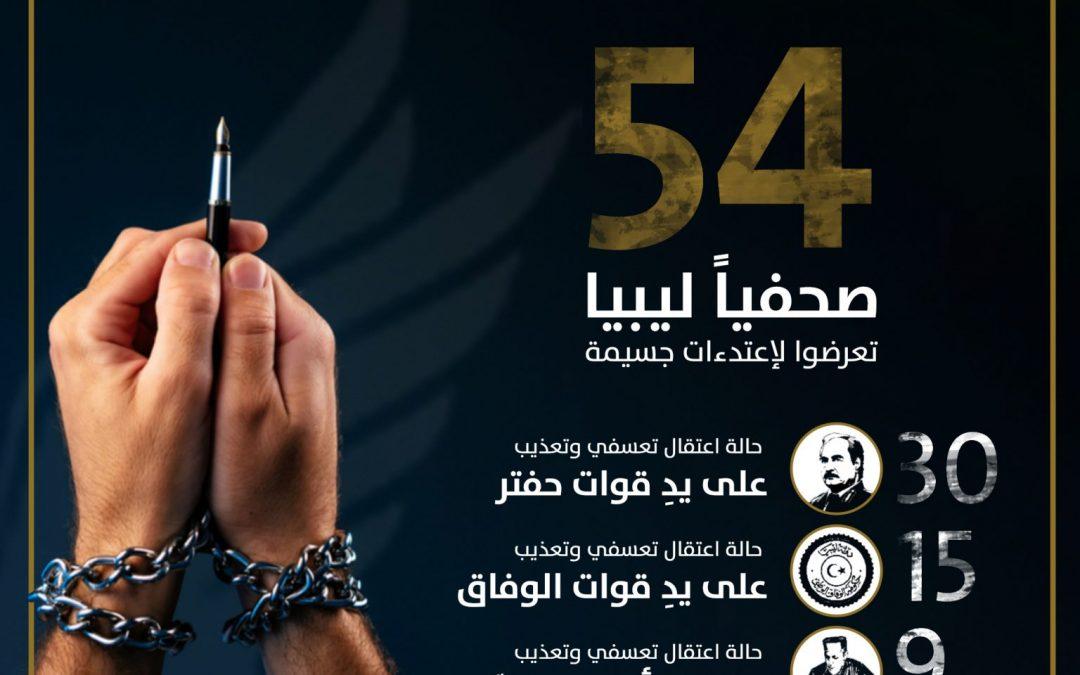 صحفيو ليبيا يٌكافحون لتغطية الأحداث الدامية رغم خطورة الأوضاع المٌعقدة