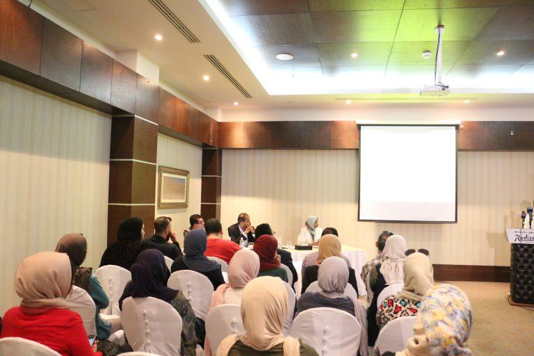 ندوة صحفية لإطلاق التقرير البحثي حول خطاب الكراهية بالتلفزيون الليبي