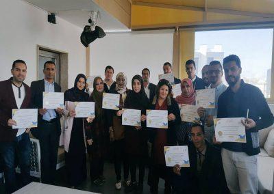 17 صحفيا يتلقون تدريبا حول أليات تغطية قضايا حقوق الإنسان