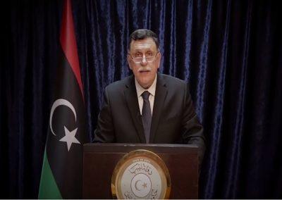رسالة مفتوحة إلى رئيس المجلس الرئاسي بالحكومة الليبية فائز السراج