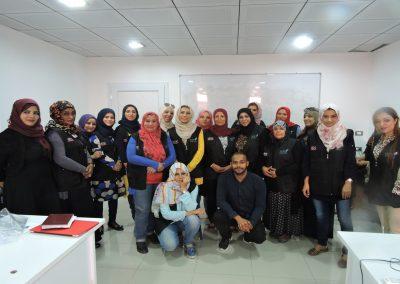 تقوية مهارات الصحفيات الليبيات في الحماية الجسدية