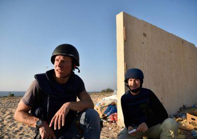 المركز الليبي لحرية الصحافة يعبر عن إدانته البالغة لمقتل المصور الهولندي