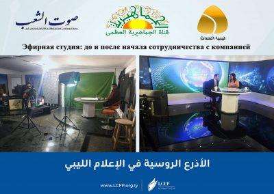الأذرع الروسية في الإعلام الليبي